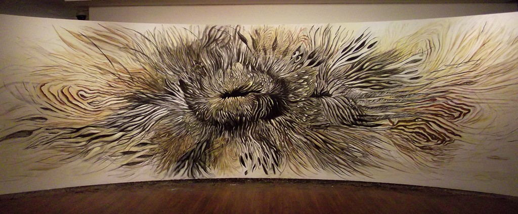 mimic - wall drawing at KNMA 2011 (9)