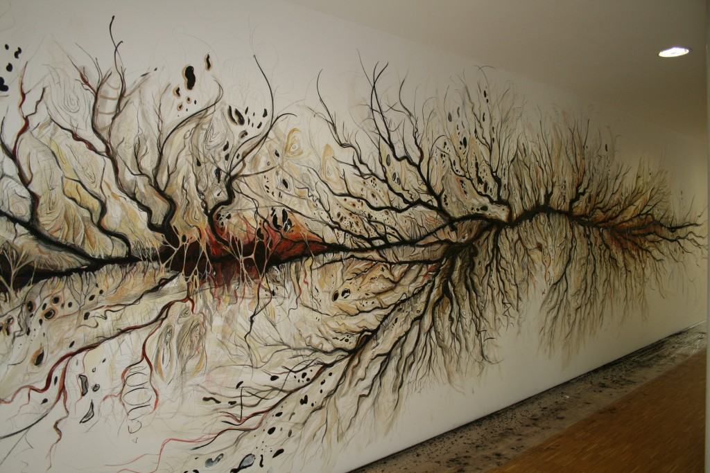 Parts Unknown -  wall drawing at MPIWG Berlin 2012 (4)
