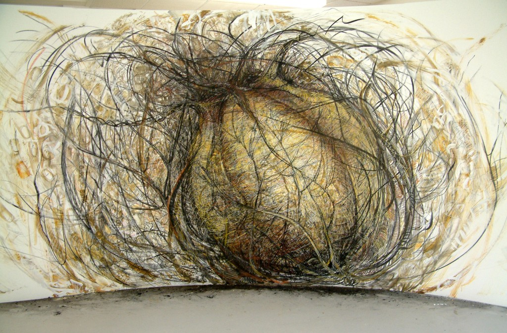 Seed - mixed media on wood - rohini devasher - 2004 (13)