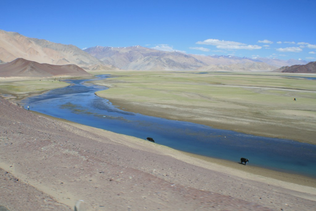 on the way to Hanle